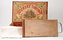 Geo. Hecker's Croton Flour Mill's Box c.1880's