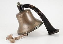 United States Navy Nickel Plated Ship's Bell