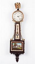 Waltham Clock Co. Miniature Banjo Clock