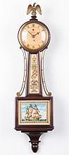 Warren Telechron Co. Miniature Banjo Clock