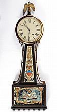 Seth Thomas Banjo Clock c.1900