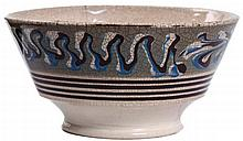 Mochaware London-Shape Stylized Earthworm Bowl