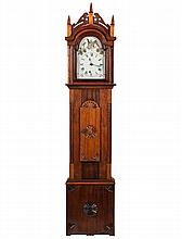 (20th c.) Bench Made Dwarf Case Clock