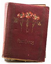 (19th/ 20th c.) Post Card Album