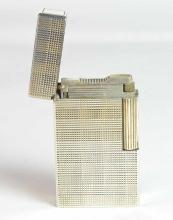 An Art Deco St. Dupont Paris, Silver Plated Lighter