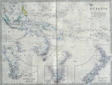 Keith Johnson's General Atlas: Oceania, c.1876