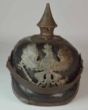 WW1 German Prussian Pikelhaube Helmet with