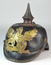 WW1 German Prussian Pickelhaube Helmet with