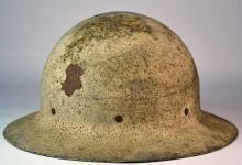 An Early Tin Miners Hat