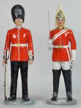 Two Royal Doulton Porcelain Military Figurines