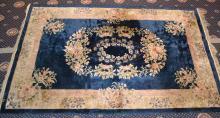 A Chinese Silk Floor Carpet
