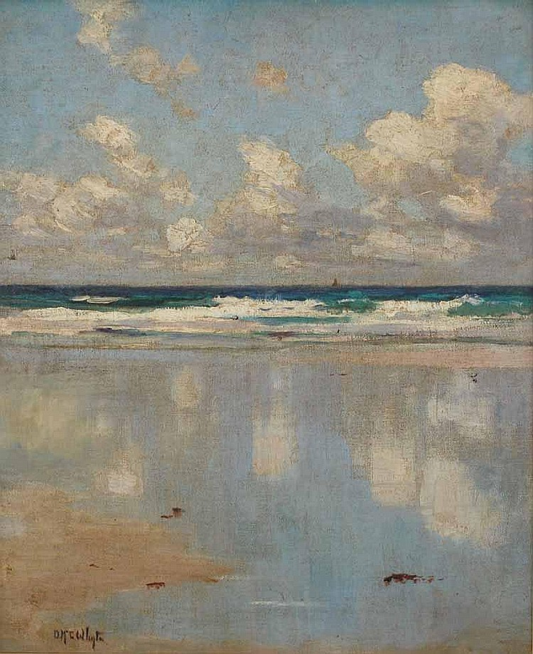 Duncan McGregor Whyte (1865-1953) Beach Scene,