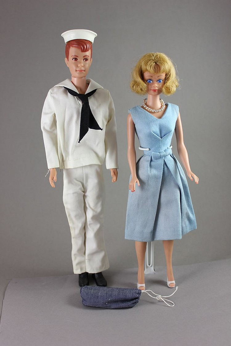 (2) BARBIE FRIENDS INCLUDES Midge and Allen