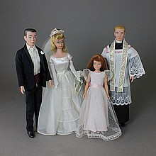 BARBIE AND KEN TIE THE KNOT