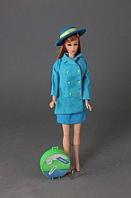 TITIAN TWIST 'N TURN BARBIE WITH JAPANESE COAT
