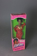 BLACK BARBIE IN BOX