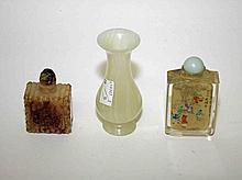 A CHINESE INSIDE DECORATED SNUFF BOTTLE, 4in
