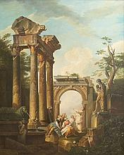 AFTER GIOVANNI PAULO PANINI, ''Capriccio of