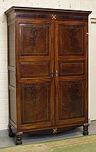 AN ATTRACTIVE REGENCY PERIOD INLAID MAHOGANY