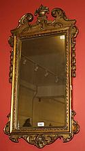 A PAIR OF 19TH CENTURY GILT AND GESSO PIER