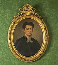 A. VANDER BORCHT (19th century Belgium)  Portrait of a Bearded Gentlema