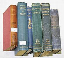 A COLLECTION OF MOSTLY CLOTH BOUND NOVELS,  Poetry, astronomy, essays e