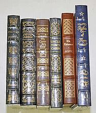 THE COLLECTORS EDITION,  Six fine leather bound books from the 100 grea