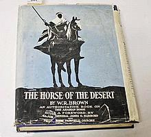 BROWN, [William Robinson], The Horse of the Desert, New York - The Derrydan