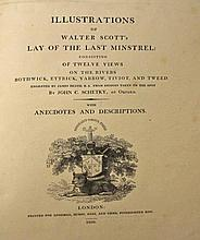 SCOTT, [Sir Walter], Illustration of Walter Scott's Lay of the Minstrel: Co