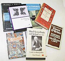 A COLLECTION OF BOOKS RELATING TO IRISH HISTORY, CONSTIUTION, NORTHERN IREL