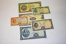 A SET OF IRISH SERIES LADY LAVERY BANKNOTES, comprising: 1975 £100, 1977 £5