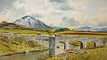 LEON O' KENNEDY (20TH/21ST CENTURY IRISH)  Mount Errigal Co. Donegal, a