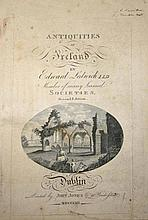 LEDWICH EDWARD L.L.D,  The Antiquities of Ireland, second edition 1804,