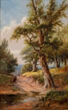 ALEXANDER WILLIAMS R.H.A, A.R.H.A. (1846-1930), A Path in the Woods by Howt