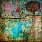 Jordi Fornies The Tree of Knowledge Encaustic,