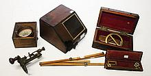A COLLECTION OF SCIENTIFIC AND DRAWING INSTRUMENTS