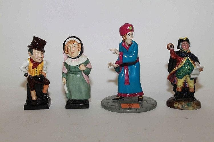 FOUR ROYAL DOULTON CHARACTER FIGURES, Comprising
