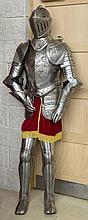 A CONTINENTAL ETCHED STEEL SUIT OF ARMOUR OF RENAISSANCE STYLE, O.R.M., com