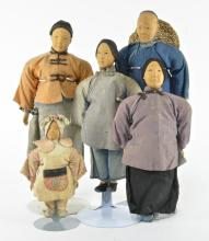 Door of Hope Chinese Family Dolls