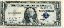 1935B $1.00 Silver Certificate
