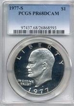1977-S Eisenhower Dollar