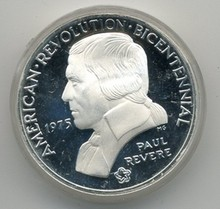 1975 Paul Revere American Revolution Bicentennial