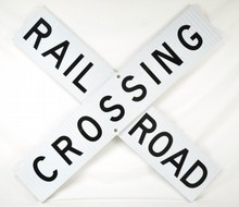 Railroad Crossing Sign