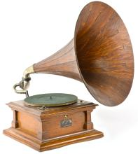Antique Phonograph and Record Collection