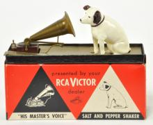 RCA Victor Salt and Pepper Shakers
