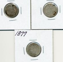 Seated Dime Lot