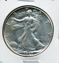 1937 Walking Liberty Half Dollar