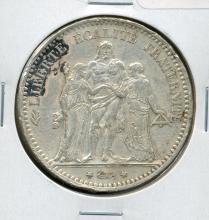 1874 5 Francs