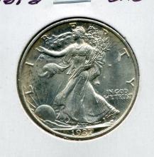 1937-S Walking Liberty Half