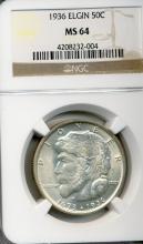 1936 Elgin Half Dollar